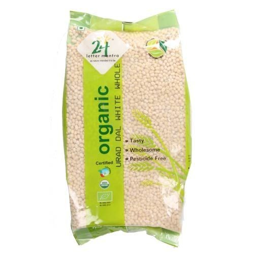 24 LM Organic Dal - Urad White Whole