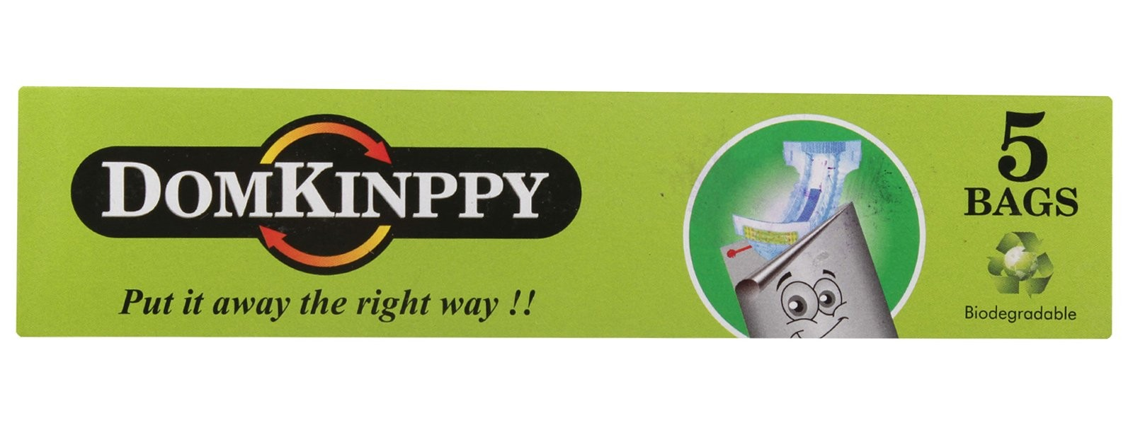 Domkinppy - Biodegradable Disposable Bags For Nappies