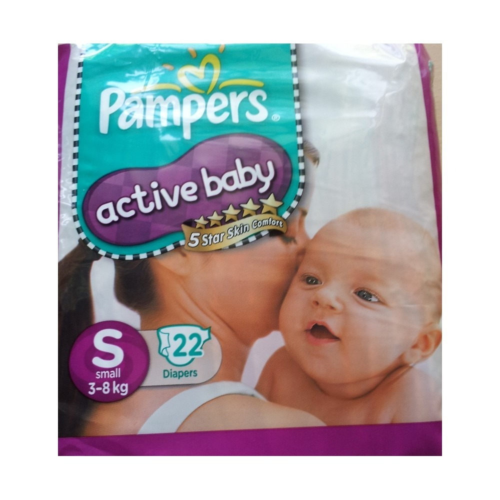 Pampers - Active Baby Small