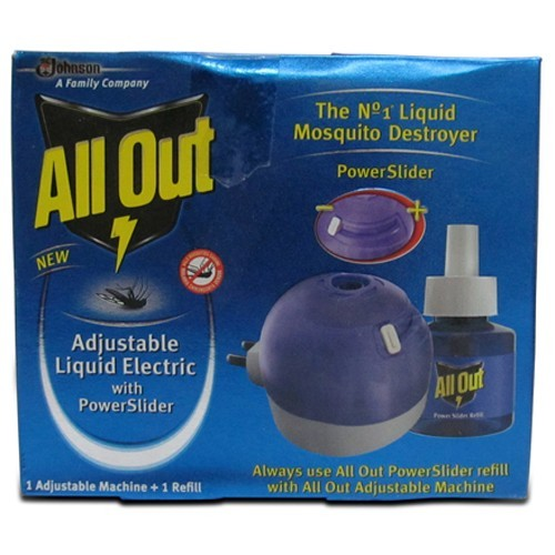 All Out Power Slider Machine + Refill 45 ml