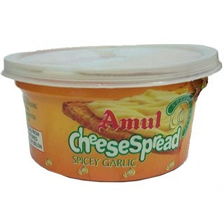Amul Cheese Spread - Spicey Garlic