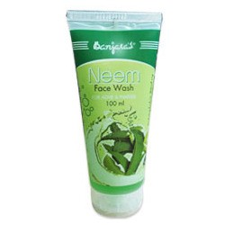 Banjaras Face Wash - Neem (for Acne & Pimples) 100 ml