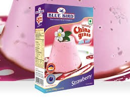 Blue Bird - Chinagrass Strawberry