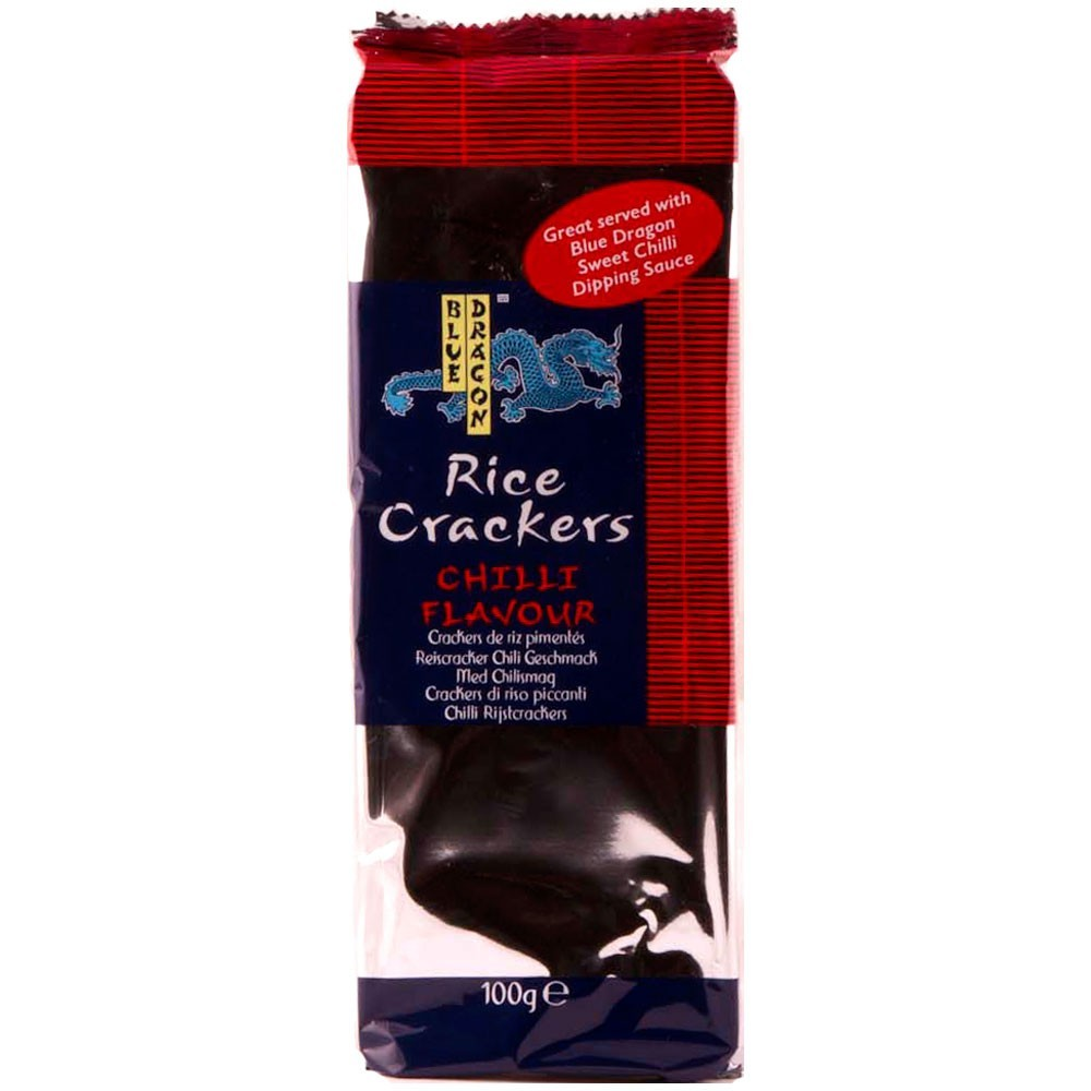 Blue Dragon - Rice Crackers Chilli Flavour