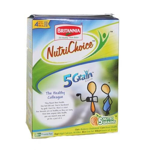 Britannia Nutri Choice - 5 Grain Biscuits