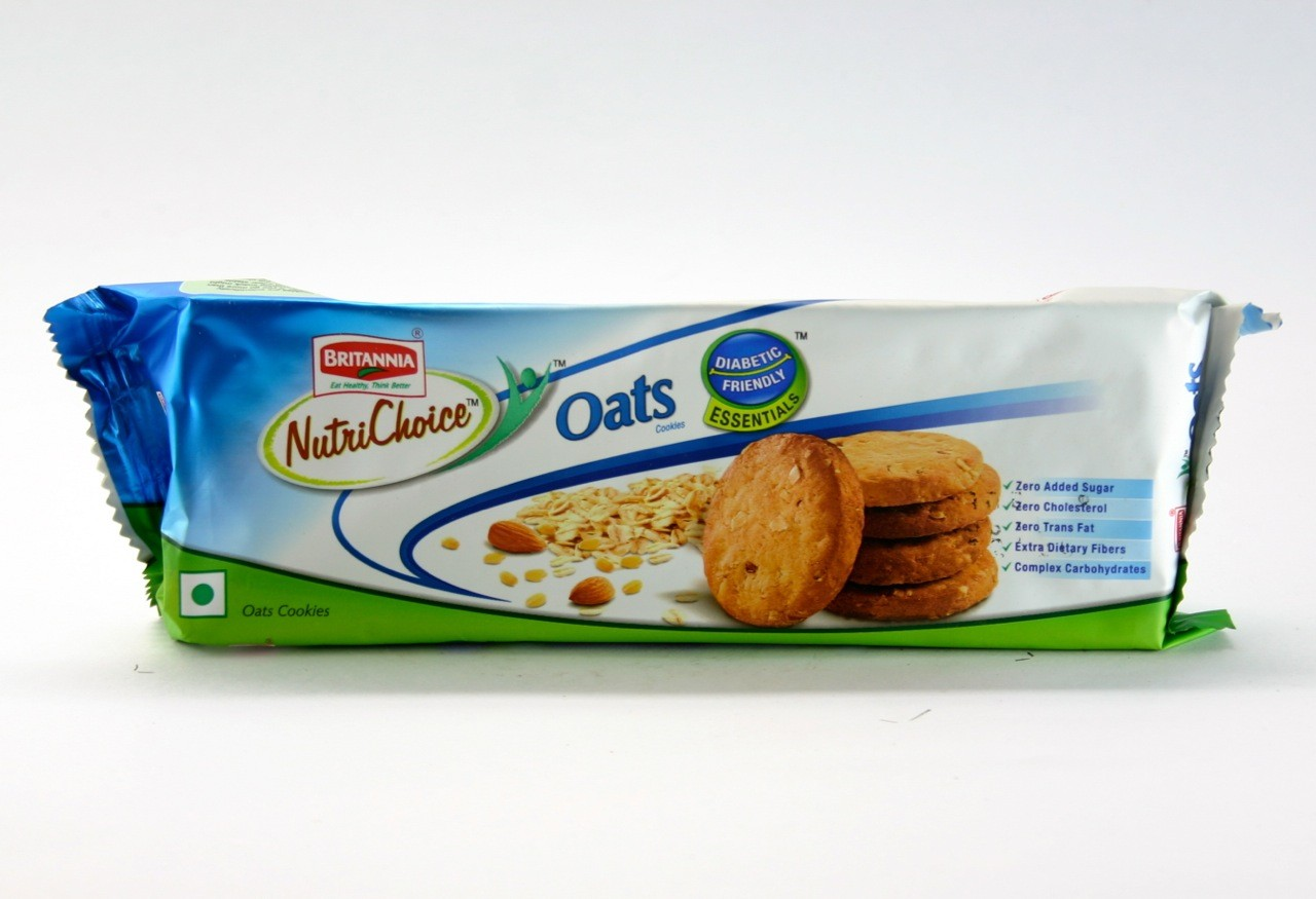 Britannia Nutri Choice - Oats Cookies