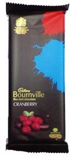 Cadbury - Bournville Cranberry 33 gm Pack