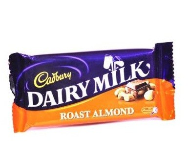 Cadbury - Roast Almond 42 gm Pack