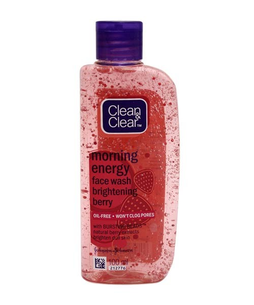 Clean & Clear - Morning Facewash Strawberry 50 ml