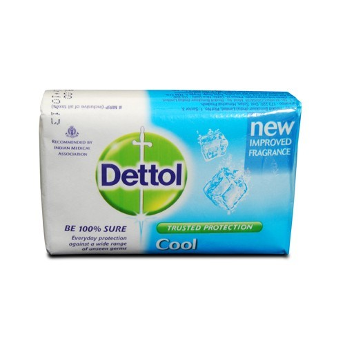 Dettol - Cool Soap (3 X 125 gm Pack)