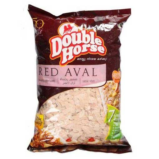 Double Horse Aval - Red