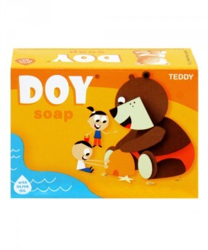 Doy Kids Soap - Teddy with Olive Oil