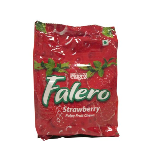 Falero - Strawberry Chews 160 gm Pack