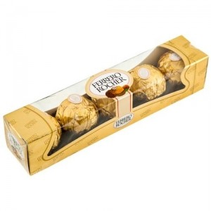 Ferrero Rocher - Chocolate Hazelnut 5 Pcs Pack