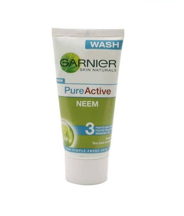 Garnier Pure - Active Neem Face Wash 50 gm Pack