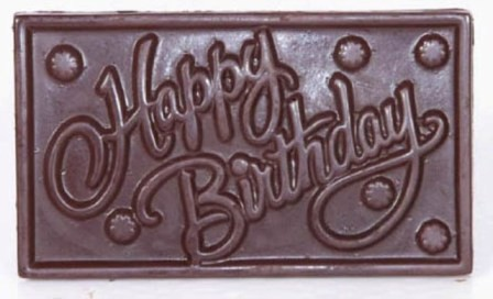 Ghasitaram - Happy Birthday Chocolate  200 gm Pack