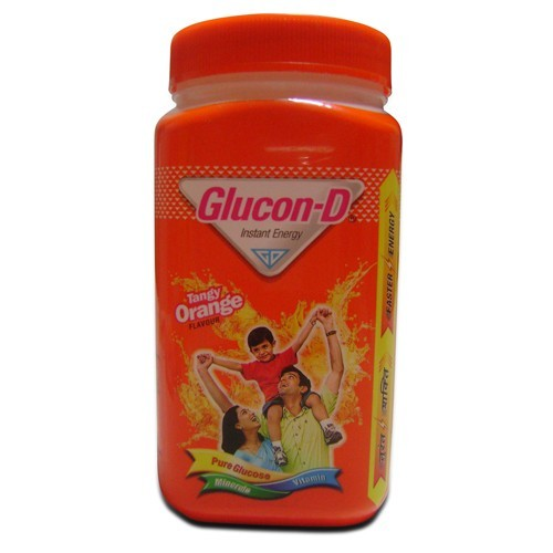 Glucon-D - Orange Pet Jar