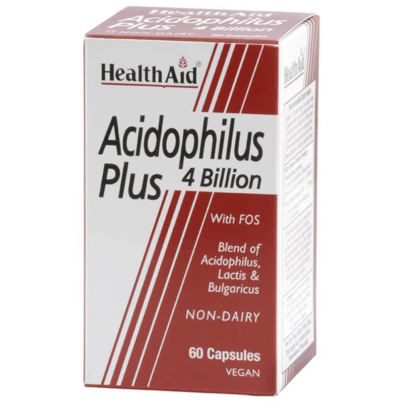 Health Aid Acidophilus Plus - 4 Billion