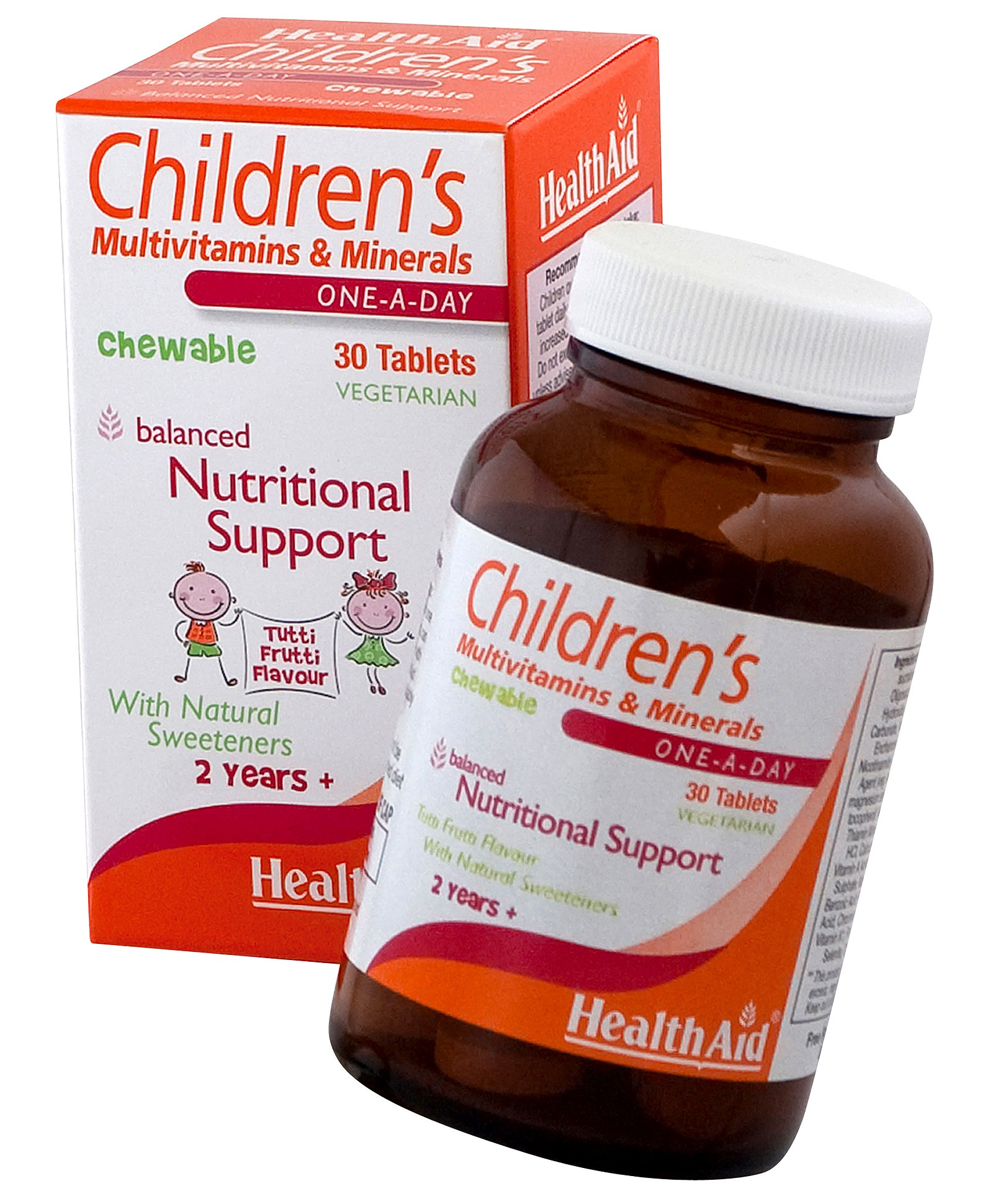 Health Aid Children's MultiVitamins & Minerals