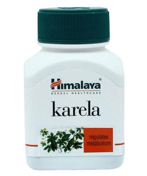 Himalaya Karela Capsules - Regulates Metabolism