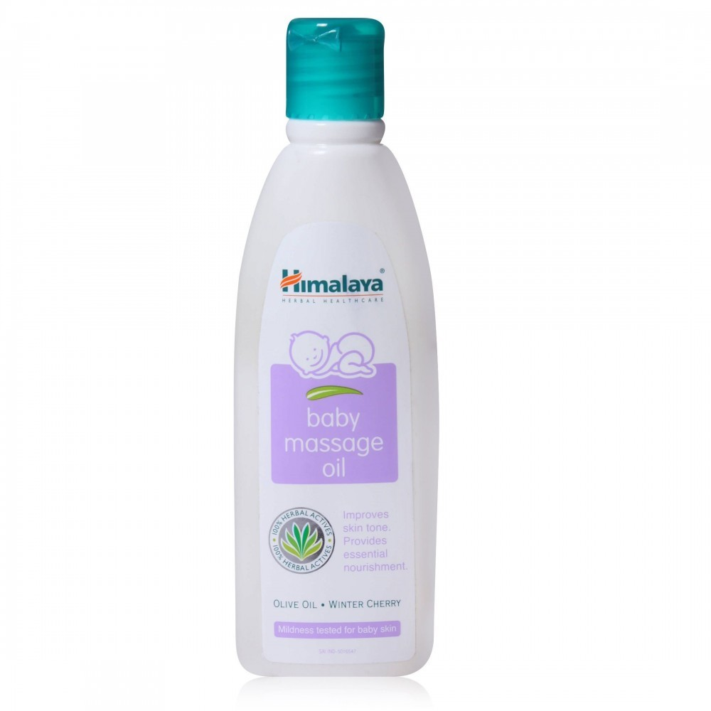 Himalaya Baby Massage Oil - Olive Oil (Winter Cherry)