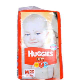 Huggies Care Diapers - Medium (5-11 kgs)