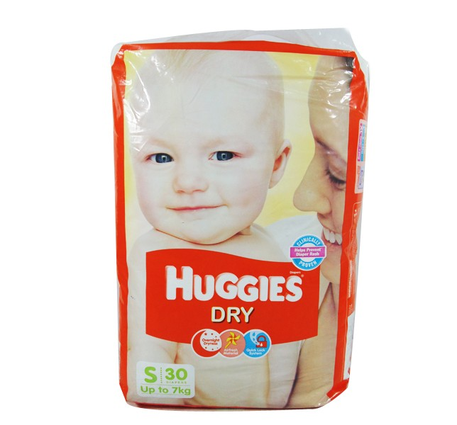 Huggies - Dry Small (Upto 7 Kg)