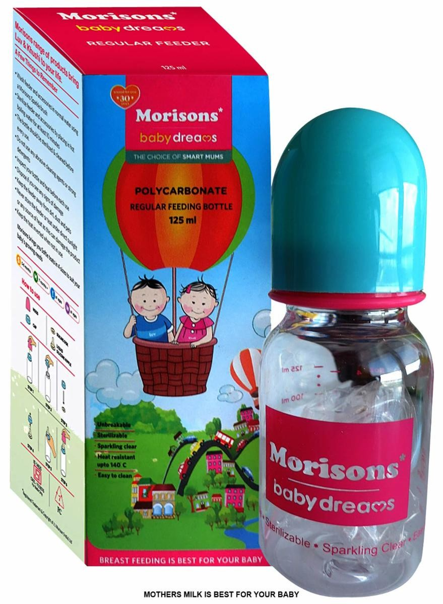 Morisons - Baby Dreams Regular Feeding Bottles
