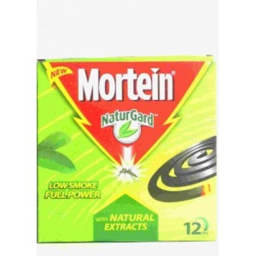 Mortein NaturGard with Natural Extracts - Low Smoke Full Power 10 Coils