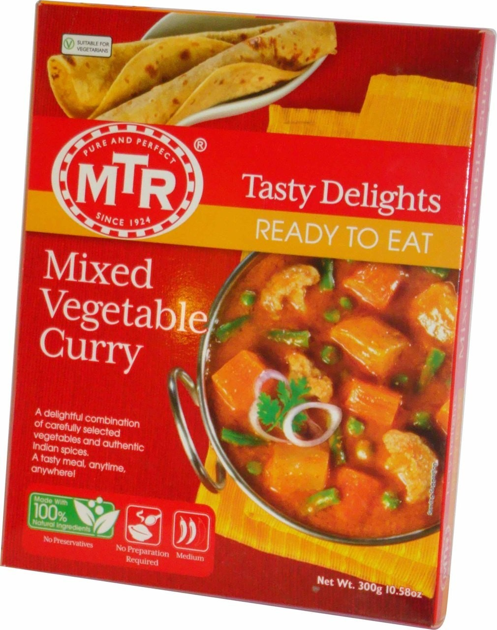 MTR - Mixed Veg Curry