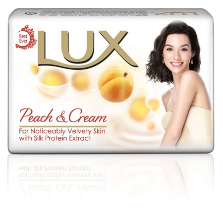 Lux - Peach & Cream Soap 100 gm Pack