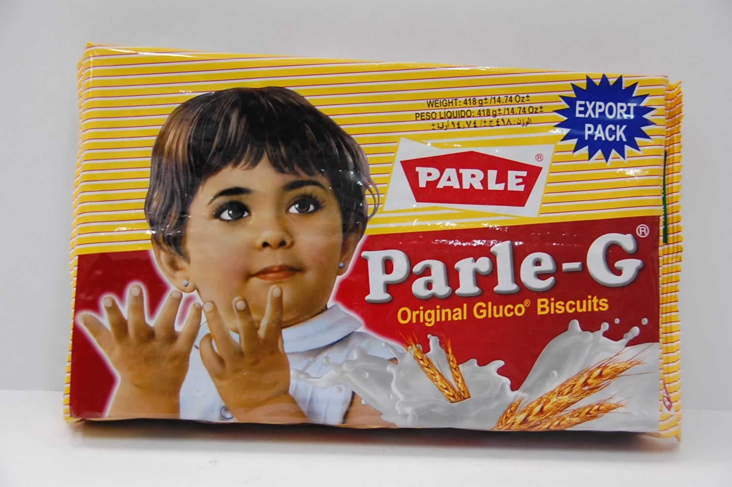Parle Gluco Biscuits - Parle-G
