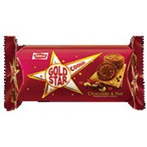 Parle - Gold Star Chocolate & Nut 75 gm Pack