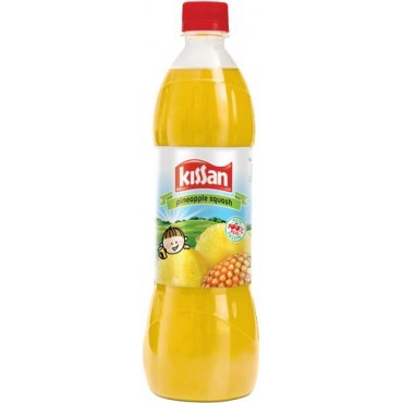 Kissan - Pineapple Squash 700 ml Packing