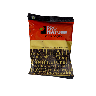 Pro Nature Organic Black Pepper Whole