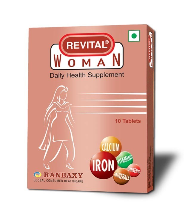 Revital Daily Health Supplement Tablets - Woman