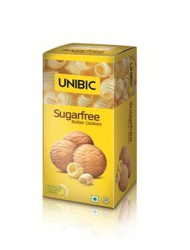 Unibic - Sugar Free Butter Cookies 75 gm Pack
