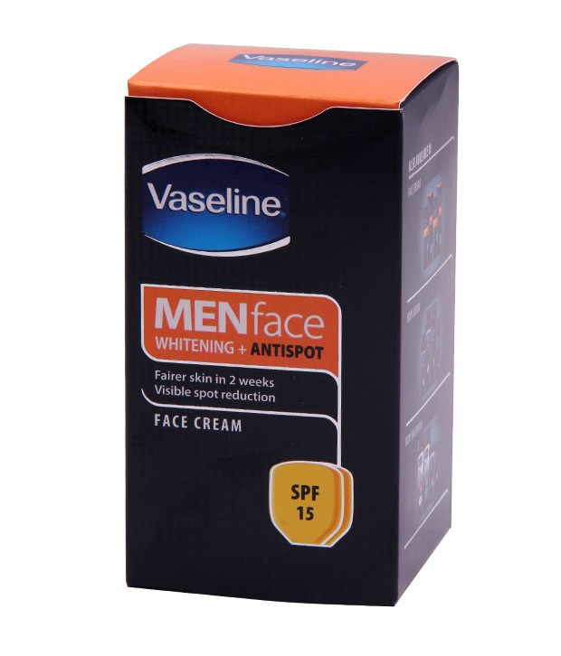 Vaseline Face Cream - Antispots Whitening (for Men) 30 gm Pack