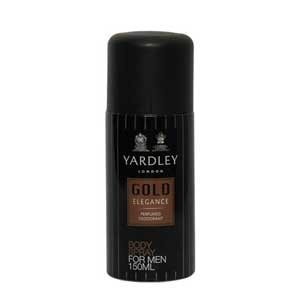 Yardley - Gold Elegance Men Deo Body Spray 150 ml