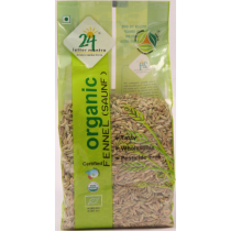24 LM Organic Fennel Seeds