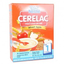 Nestle Cerelac - Wheat Apple Infant Milk Stage 1