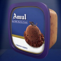 Amul Real Ice Cream - Choco Chips