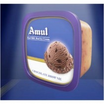 Amul Real Ice Cream - Chocolate Brownie