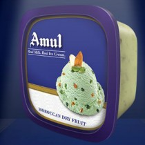 Amul Real Ice Cream - Moroccan Dry Fruit