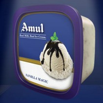 Amul Real Ice Cream - Vanilla Magic