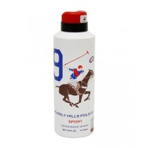 Beverly Hills Polo Club Deodorant Spray - 9 Sport (For Men) 175 ml
