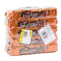 Britannia Bourbon Biscuits, ( 5 X 120 gm Pack)