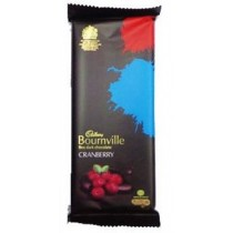 Cadbury - Bournville Cranberry 100 gm Pack