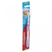 Colgate Toothbrush - Extra Clean with Hygiene Cap (Medium), 1 nos Pouch