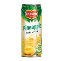 Del Monte Fruit Drink - Pineapple with Real Pineapple Pulp